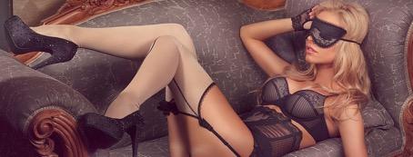 Erotische Dame in Dessous